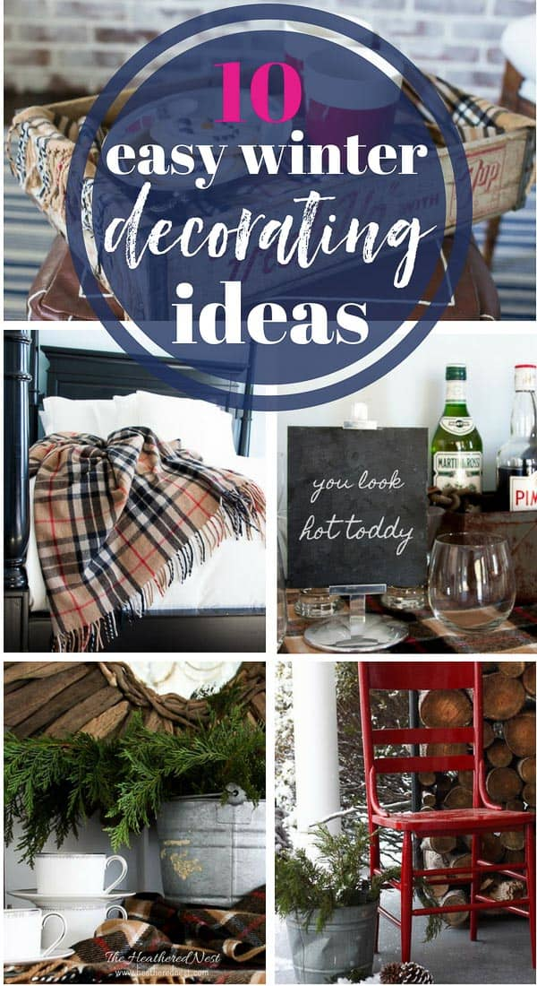 Great ideas to warm up winter decor! THESE ARE SO EASY & AFFORDABLE!! #winterdecoratingideas #winterdecor #winterhomedecor #hygge #hyggedecorwinter #hyggedecor #winterdecorations