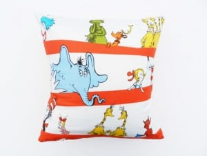 decorative kids pillows / throw pillow ideas for kids rooms www.heatherednest.com
