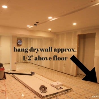 15 DIY tips for hanging drywall from www.heatherednest.com