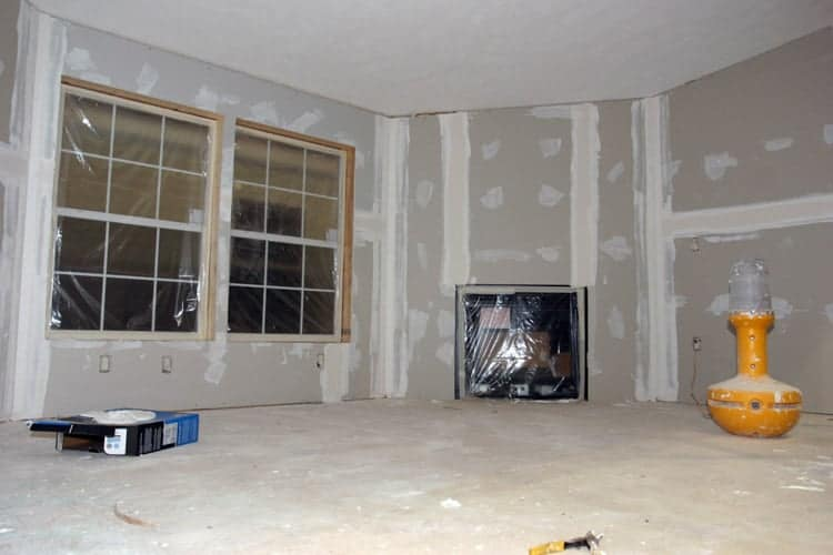 Hanging Drywall Letting Paint Dry And Other Excitement