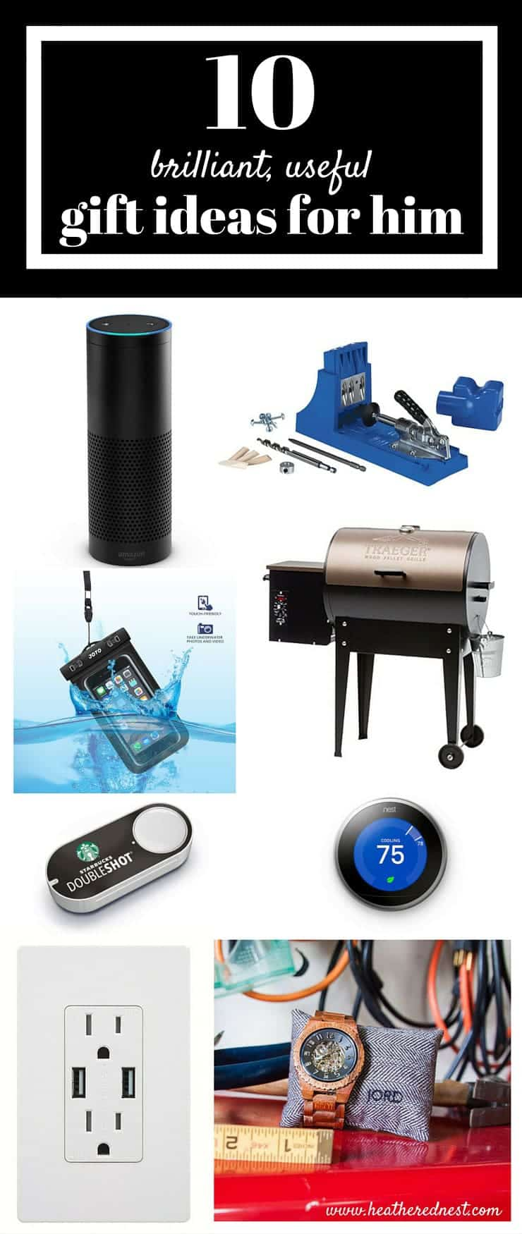 THESE ARE FANTASTIC!! Fathers day gift guide for the mother with ulterior motives from www.heatherednest.com Hilarious, and GREAT gift ideas!!