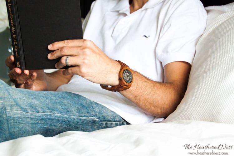 fathers day gift guide jord watch www.heatherednest.com
