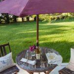 How to Paint an Outdoor Umbrella ella ella eh eh..
