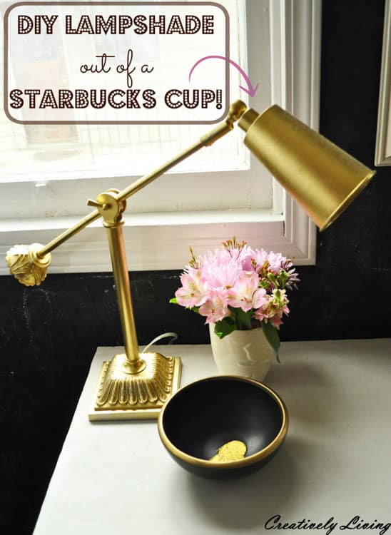 DIY-Lampshade-out-of-a-Starbucks-Cup-by-Creatively-Living-Blog-2