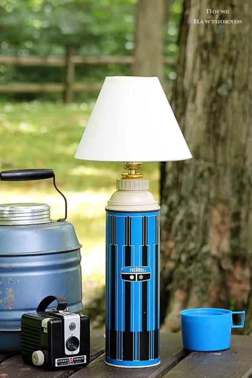 House of Hawthornes - DIY Thermos Lamp