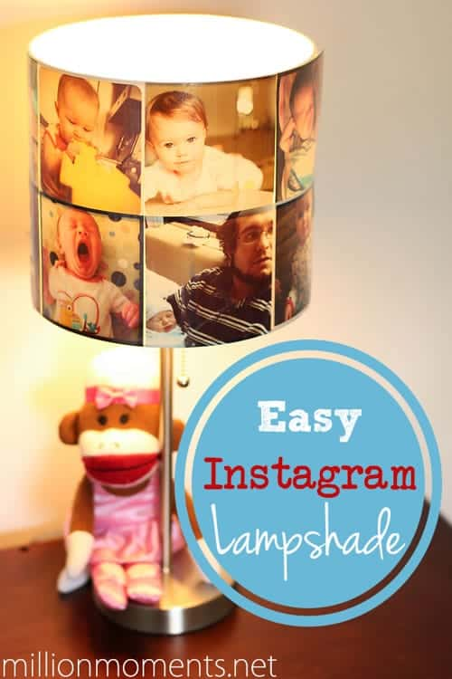 Million Moments - Instagram Photo DIY Lampshade