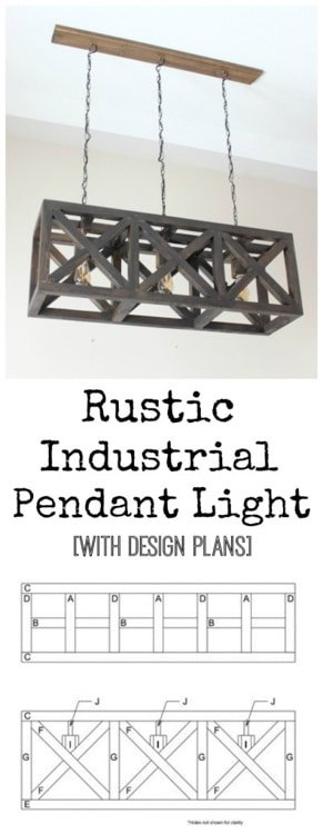 Love Create Celebrate DIY Industrial Pendant Light Fixture