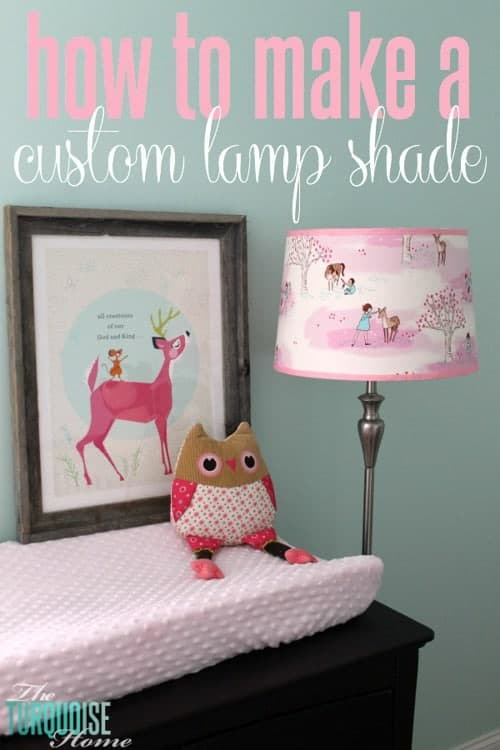 Turquoise Home Custom DIY Lampshade