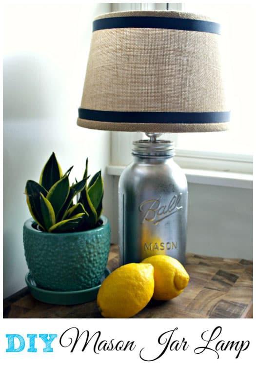Chatfield Court - Mason Jar DIY Lamp
