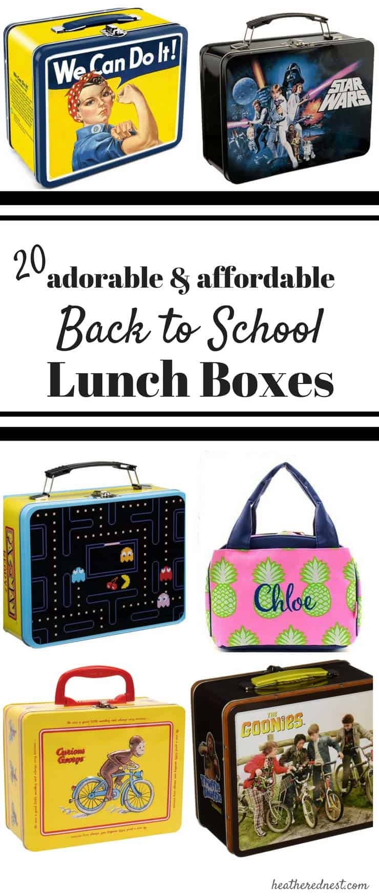 Back to school shopping for affordable lunch boxes? 20 SUPER AFFORDABLE, FUN LUNCHBOX OPTIONS!!