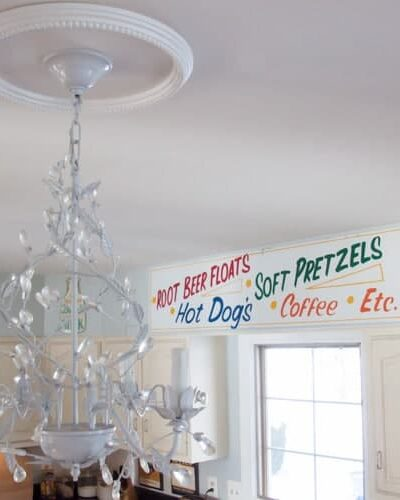 """How to Change a Light Fixture using a Recessed Light Conversion Kit. AKA """"Can the Can Lights"""""""