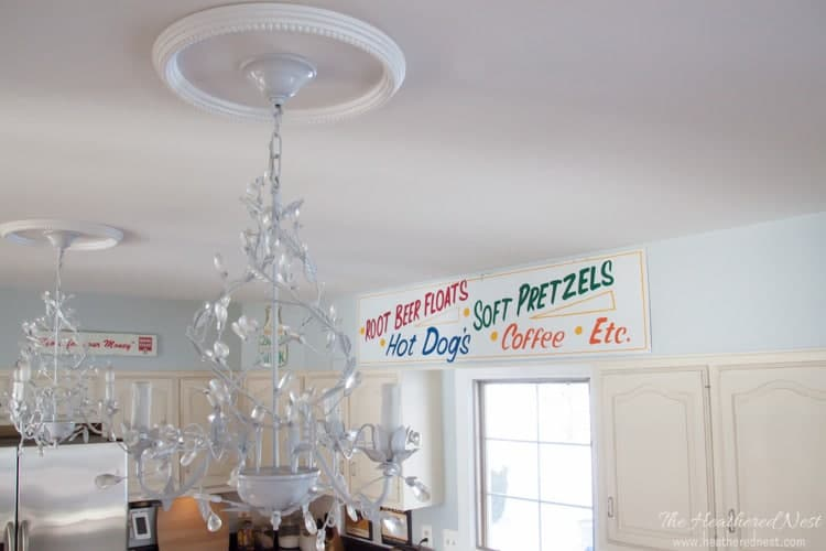 "How to Change a Light Fixture using a Recessed Light Conversion Kit. AKA ""Can the Can Lights"""