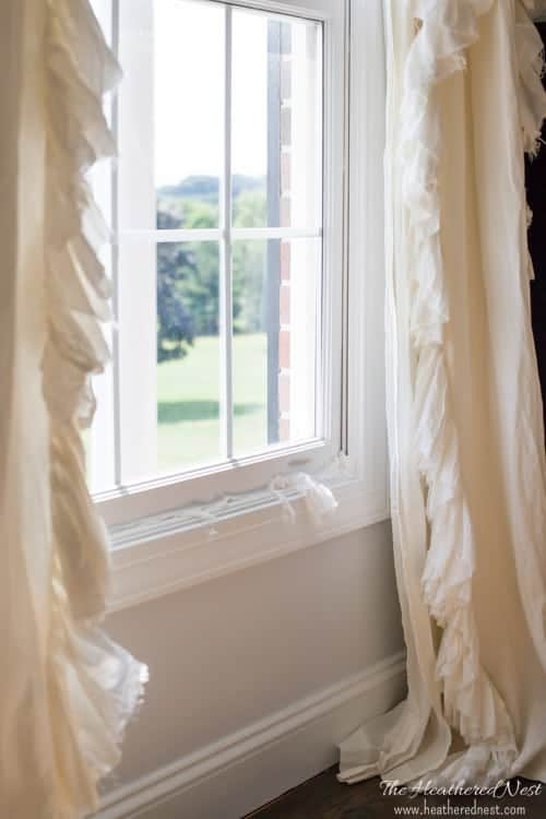 Yes, that is toilet paper stuffed into that old, outdated window. This is one sure means of knowing that it is time to get those windows replaced! All about window replacement in this post from heatherednest.com