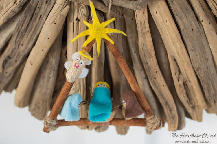 DIY Nativity Ornament
