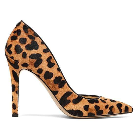 Check out the animal print on these stunning Jessica Simpson Women's Claudete2 D'Orsay Pumps! Talk about a conversation piece to take your date-night outfit to the next level!