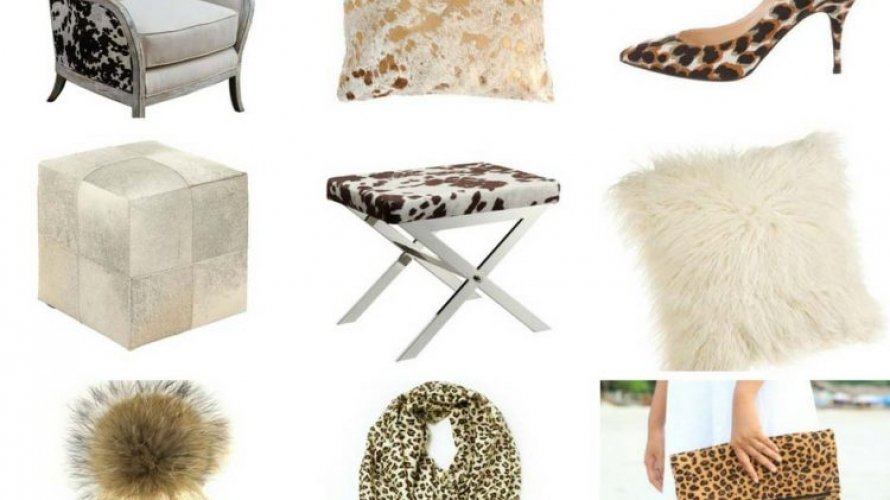 All I want for Christmas is Animal Print, Cowhide and Fuzzy Furry Goodness