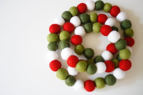 Etsy Holiday Gift Guide from www.heatherednest.com - loving this garland. She's right - you could make it, but it would take FOREVER!