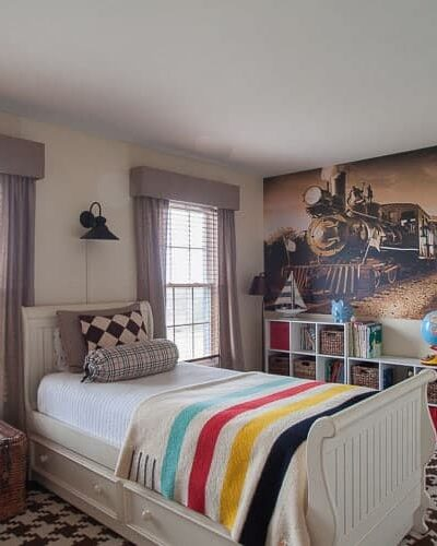"""On Designing a Boys DIY Room – Our """"Train"""" of Thought"""