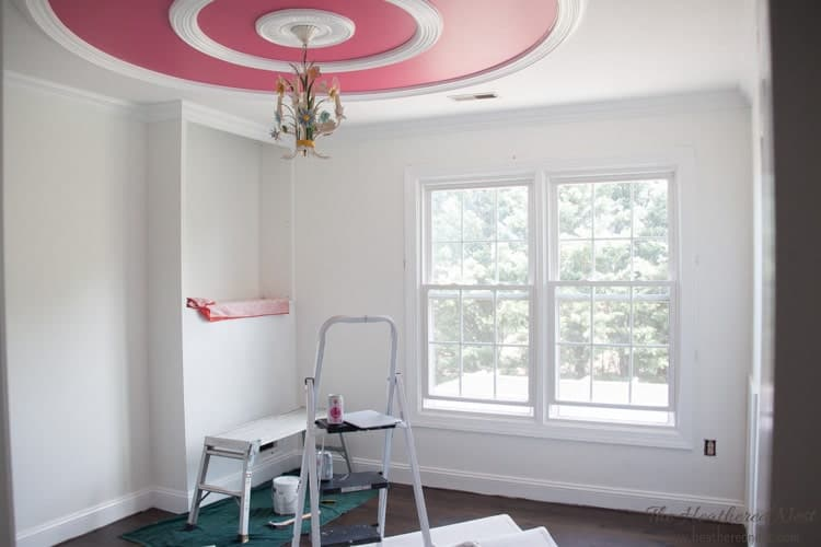 Girls pink room makeover update from heatherednest.com