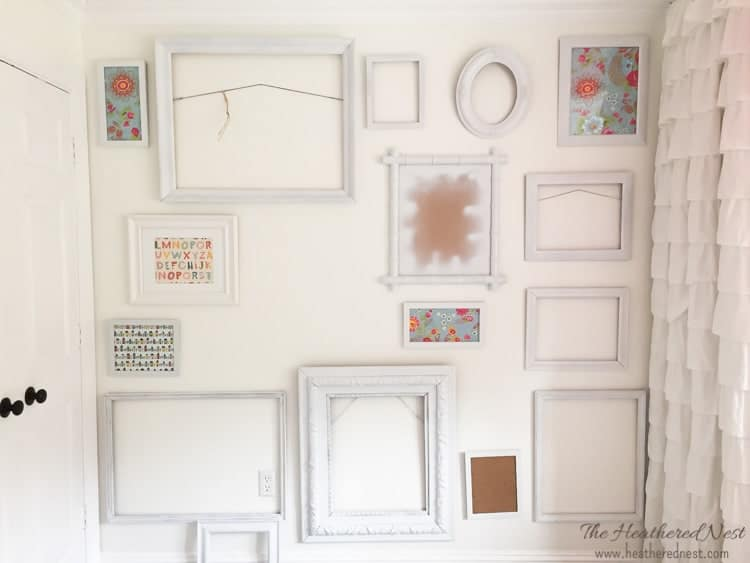 paint thrift store and flea market frames for a high end look from heatherednest.com