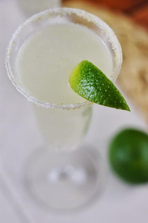 Champaign plus tequila!? I love a margarita, so why not take it up a notch for New Year's Eve?