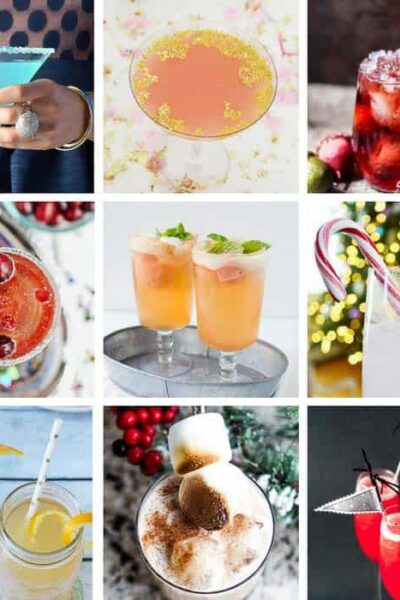 21 popular New Year's Eve cocktails to ring in the new year!! #cocktailrecipes #newyearseverecipes #newyearsevecocktails #newyearsevedrinks #newyearsevedrinkideas