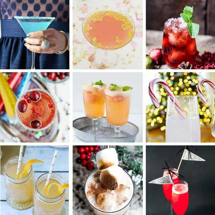 20 Popular New Year's Eve Cocktails