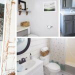 12 DIY Bathroom Decor Ideas (& a crapload of nasty toilet and barf-worthy BEFORE shots of our bathroom projects)