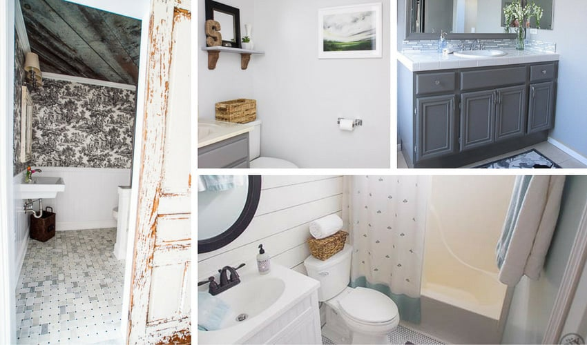 Diy Bathroom Decorating Ideas: 12 DIY Bathroom Decor Ideas (& A Crapload Of Nasty Toilet