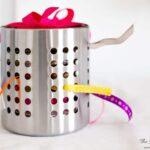 DIY ribbon organizer Ikea hack!