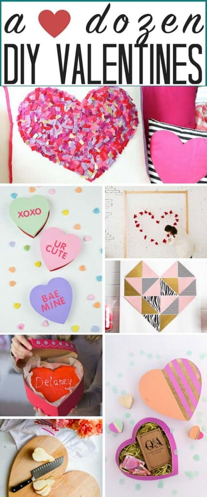 A dozen popular DIY Valentine Ideas! What's not to love about these adorable ideas for the coming holiday?! #DIY #valentines #DIYvalentineideas #DIYvalentinegiftideas #DIYvalentines #easyDIYvalentineideas