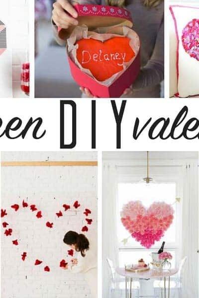 A dozen popular DIY Valentine Ideas!