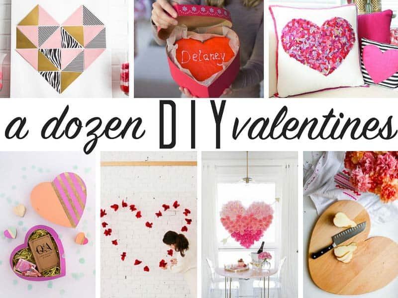 A Dozen DIY Valentines