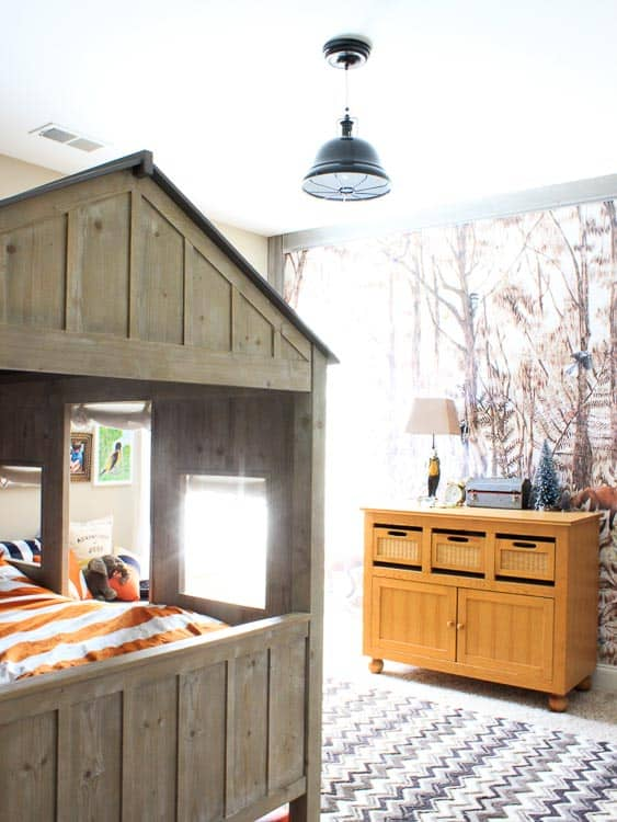 OK, I know this is a boys room idea but I kinda want it. Can it be a parent's room idea too?