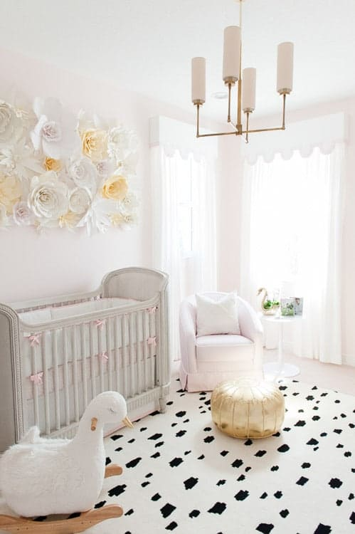This list of girls room ideas from weathered nest is so inspiring! I'd love to try this in my nursery!