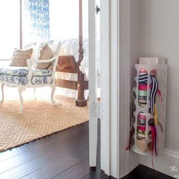 DIY ribbon holder Ikea hack! Easy, quick & inexpensive!