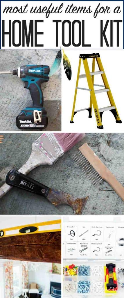 Anatomy of the home tool kit. These essential items aren't the most expensive tools, but they are the vital and basic tools to have for many DIY projects at home.