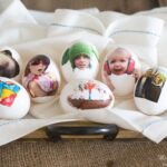 How to make temporary tattoos used for ADORABLE family photo Easter egg ideas!