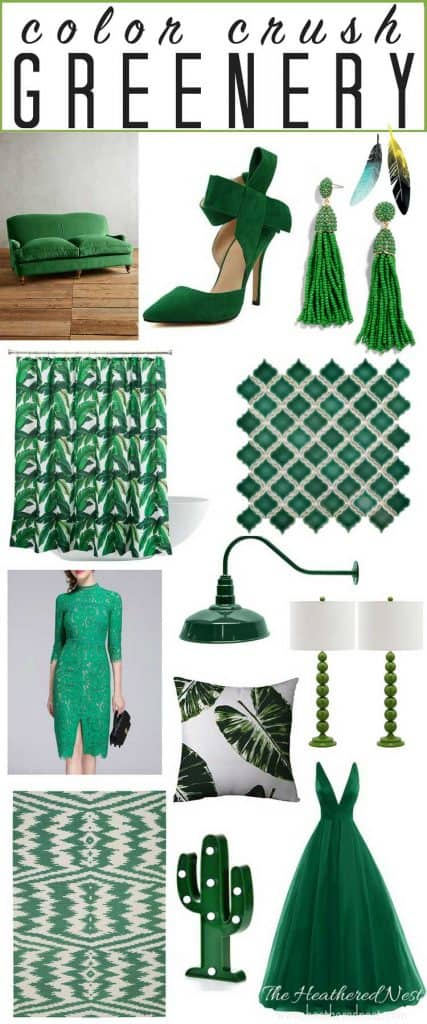 This blogger is obsessing over the color green! And I kinda have to agree. I want like, all this stuff.