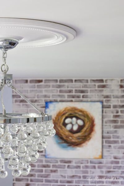 How to Install Ceiling Medallions