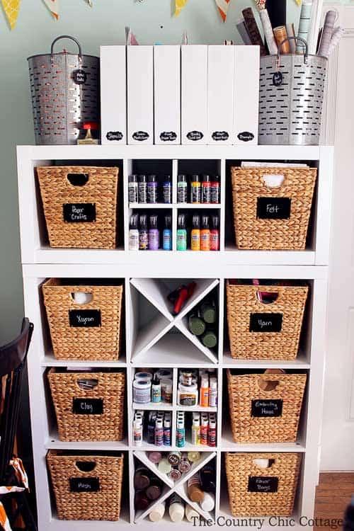 53 Best Craft Organization And Craft Storage Ideas The Heathered Nest
