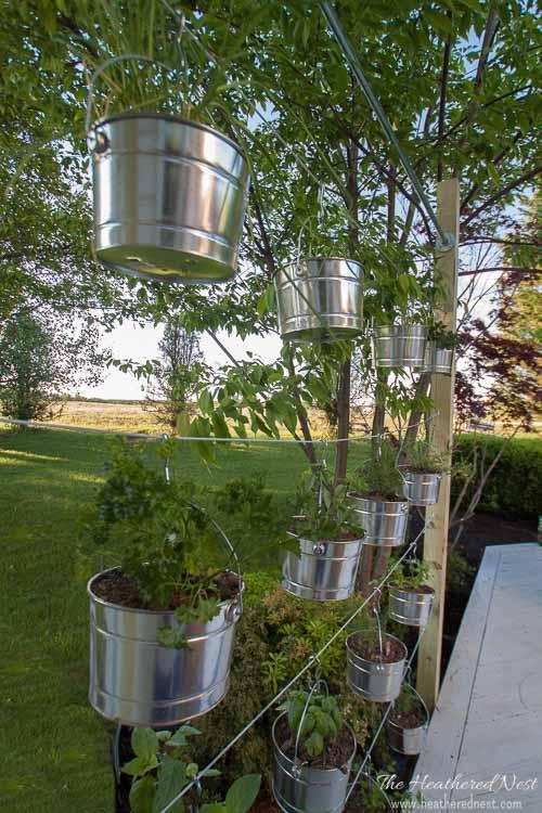 how to make a vertical garden diy