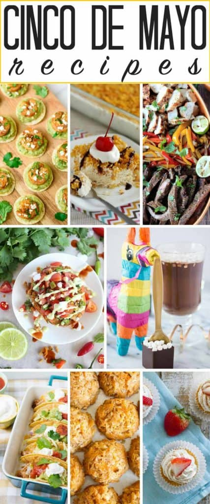 A dozen+ popular and ASOMBROSO Cinco de Mayo recipes to try this May 5th! Or any other day of the year, for that matter! DEFINITELY making that fried ice cream!! And the baked tacos...
