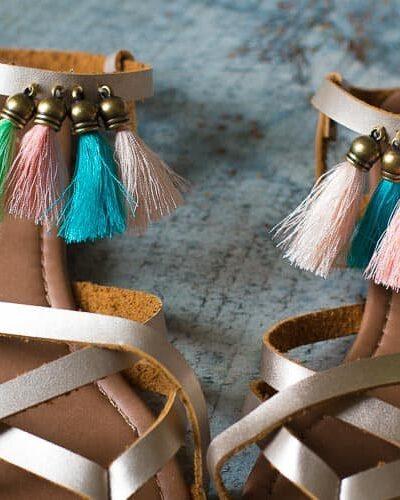 Fringe Sandals.
