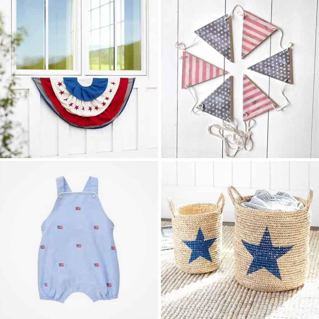 All American. The best patriotic decor and patriotic clothing on the internet.