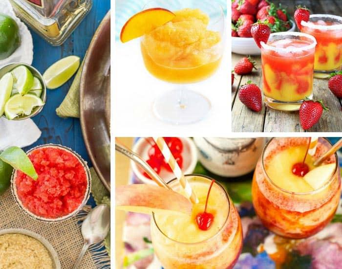 Summer Entertaining & Recipes for AMAZING Frozen Alcoholic Drinks