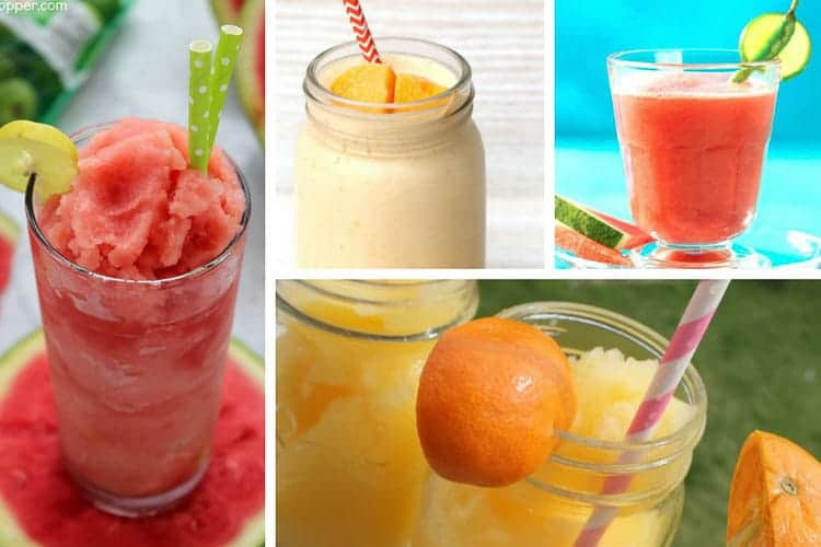 10 Non Alcoholic Frozen Drinks for Summer