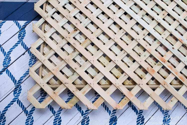 Lattice tell you how to cover an outdoor eyesore.