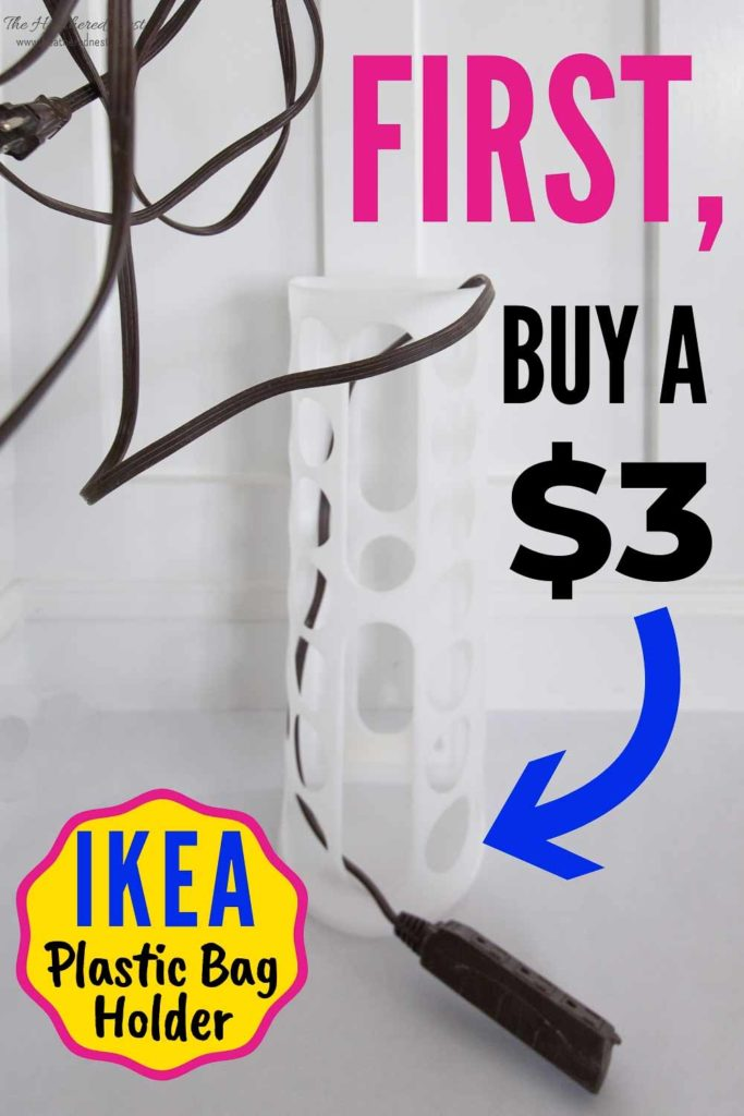 13 Ikea Plastic Bag Holder Hacks And Ideas The Heathered Nest