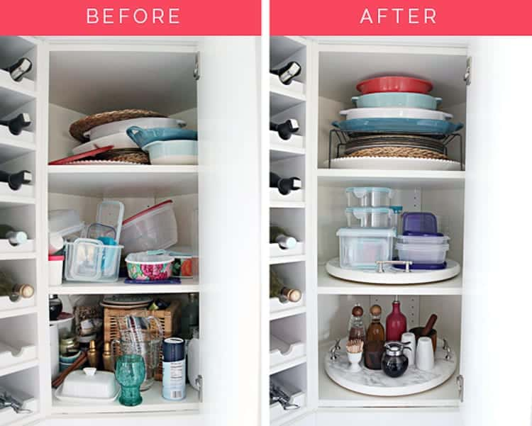 Amazing Lazy Susan Hacks | Ikea Snudda Hacks - Who knew there were so many ways to use a lazy susan at home! Great organizing tips, storage ideas, popular DIY decor projects and more!!